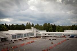 Vauriotarkastelusta valmistunut tuore raportti osoittaa korjaamisen kannattamattomaksi. Kuva Sauli Kaipainen.