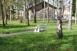 Kiiruun puisto on keidas keskellä Someron keskustaa.
