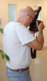 Lassi Tuomisella on valokuvanäyttely kirjastossa 30.10. saakka.