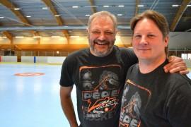 PePe Rollerin valmennustiimistä löytyvät tänä vuonna Esa Tikkanen ja Miika Leino.