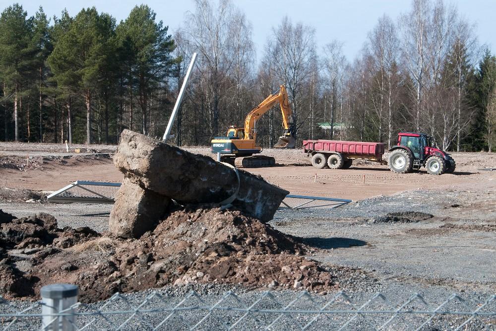 Kiiruun koulu rakentaminen