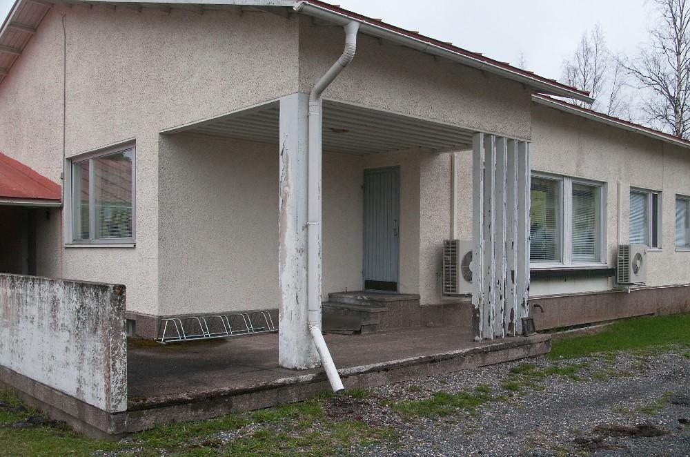 Toimistokäytössä ollut rakennus on rakennettu aikoinaan asuinkäyttöön.