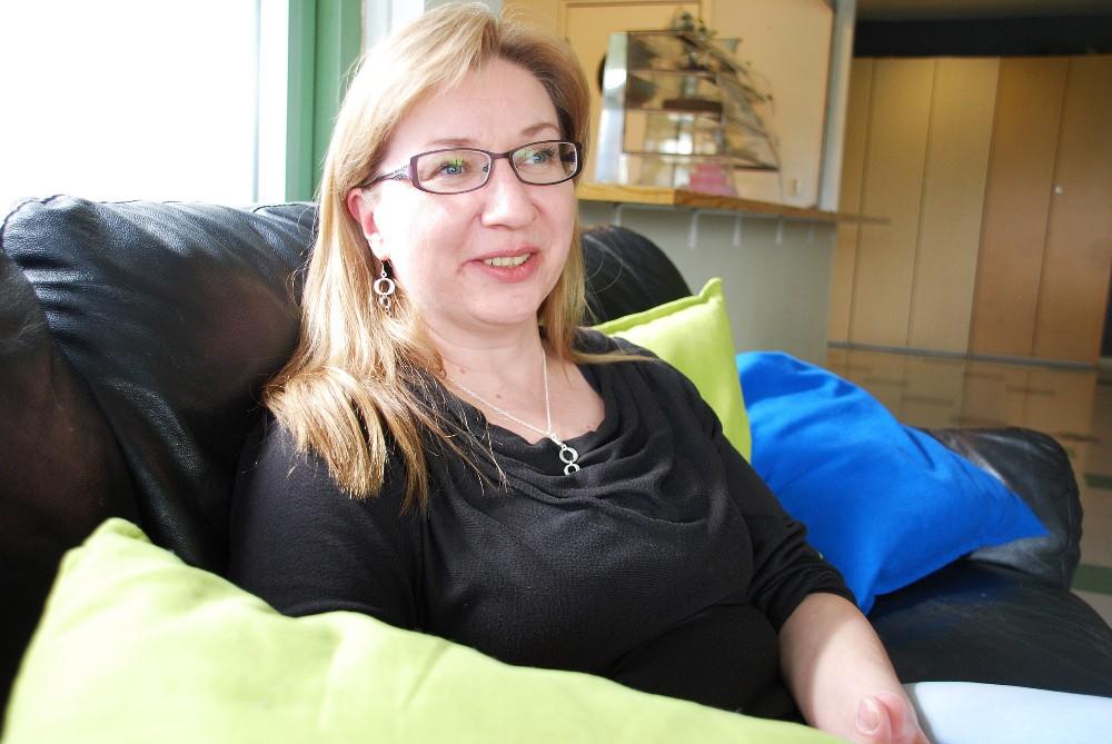 Nuorisotyöntekijä Lea Ahonen