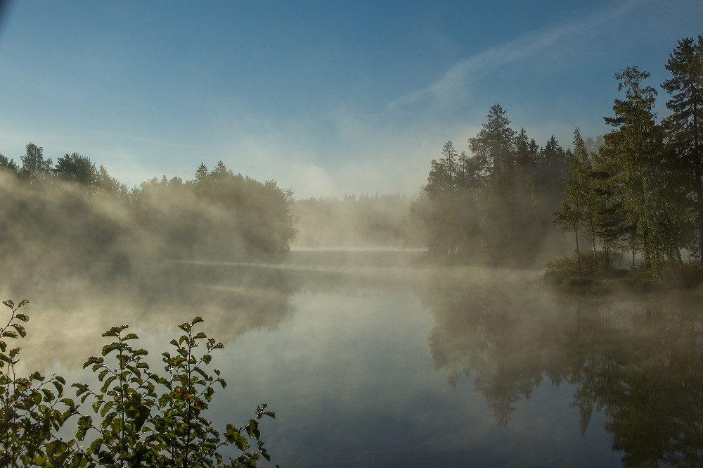 Maisema Viikin sillalta Jyrkkiin on kaunis. Kuva Matti Torkkomäki