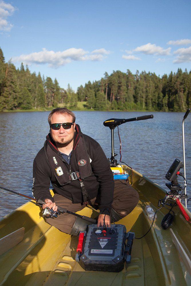 Kalastustarvikealan yrittäjä Jarno Vähämäki on vakuuttunut, että Paimionjoen vapauttaminen on Somerolle suuri mahdollisuus.