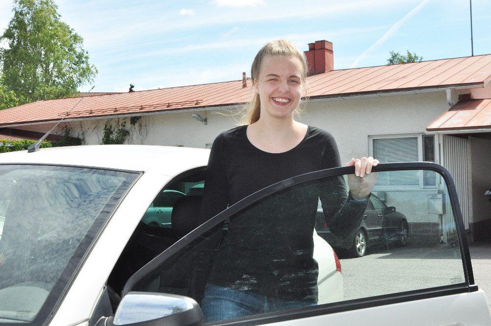 Anne Kujanpää sai kesätöitä Someron kotihoidosta.