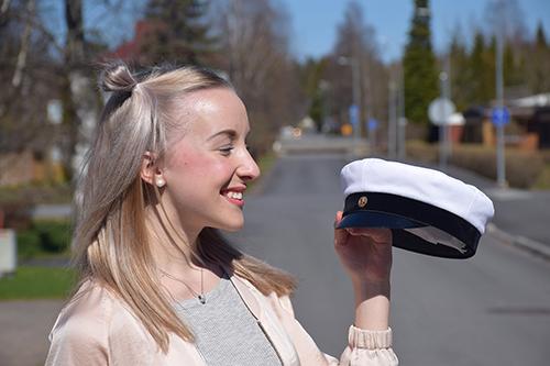 Noora Lindberg aikoo opiskella lastentarhanopettajaksi tai toimintaterapeutiksi.