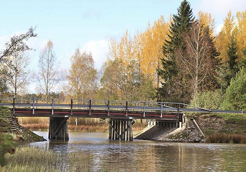 Paimionjoki syksyllä. Kuva: Sauli Kaipainen.