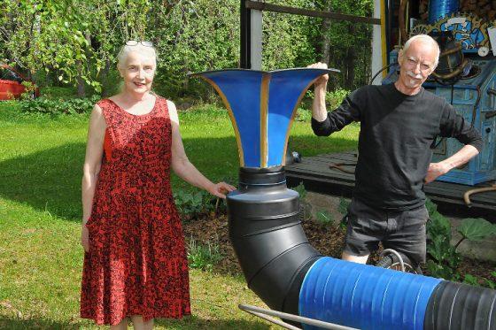 Nora ja Heikki Paakkasen taidenäyttely Viinistussa Virossa kestää kesäkuun ajan.