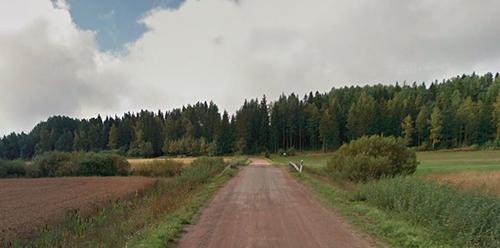 Mättäänsuonojan silta sijaitsee Hirsjärvellä. Kuva: Google maps.